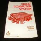 Video Computer System - Atari 2600 - 1980 Manual Only