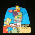 Simpsons Skateboarding Clip On Game - Handheld - Tiger Electronics 2002 - Brand New Factory Sealed