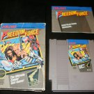 Freedom Force - Nintendo NES - Complete CIB