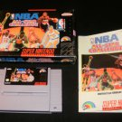 NBA All-Star Challenge - SNES Super Nintendo - Complete CIB