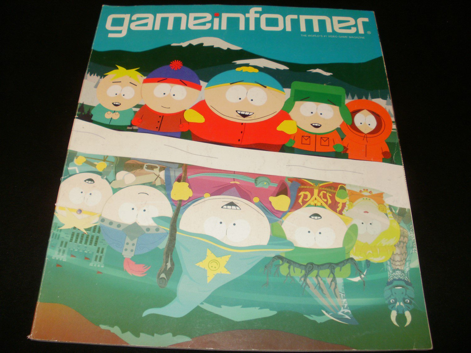 Game Informer Magazine - January 2012 - Issue 225 - South Park
