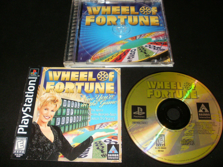 Wheel of Fortune - Sony PS1 - Complete CIB