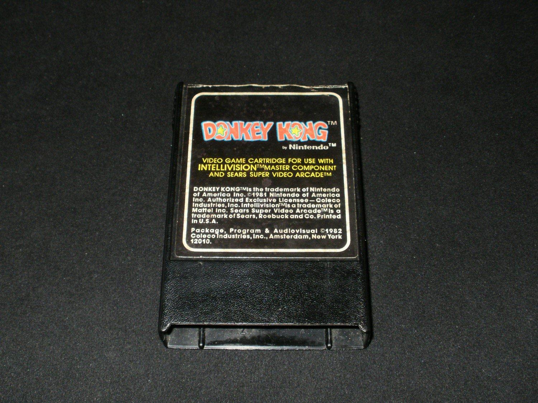 Donkey Kong - Mattel Intellivision