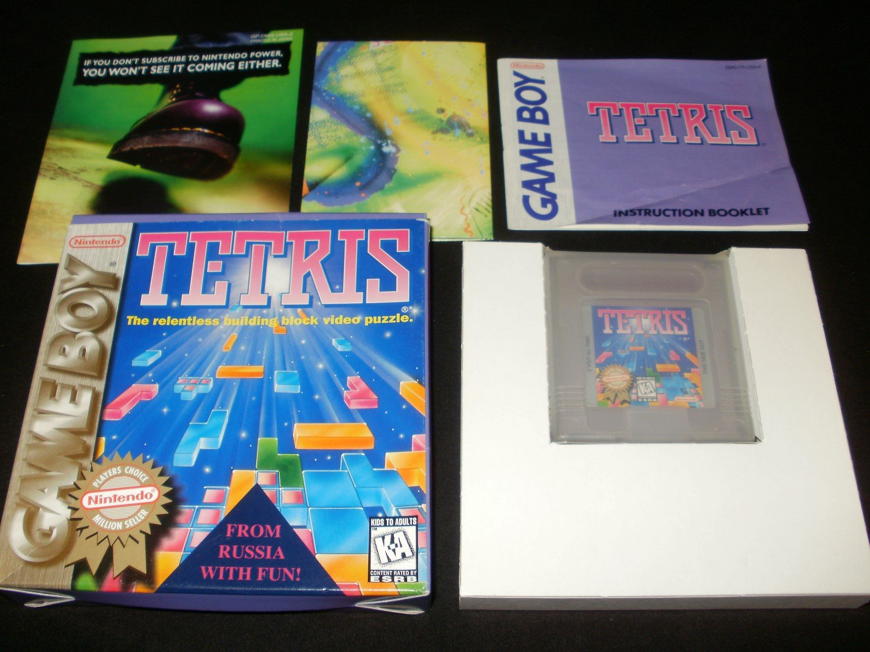 Tetris - Nintendo Gameboy - Complete CIB