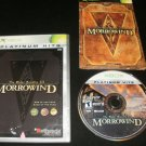 Elder Scrolls III Morrowind - Xbox - Complete CIB - Game of the Year Edition Platinum Hits Version