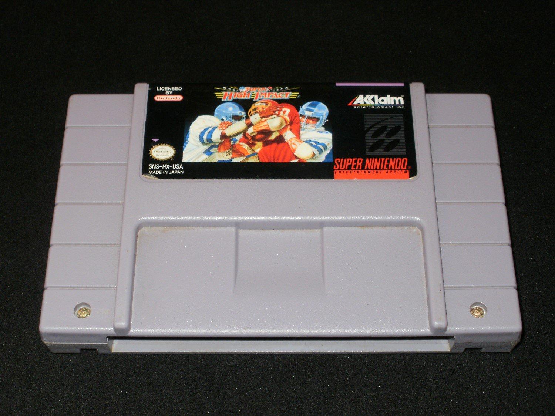 Super High Impact - SNES Super Nintendo
