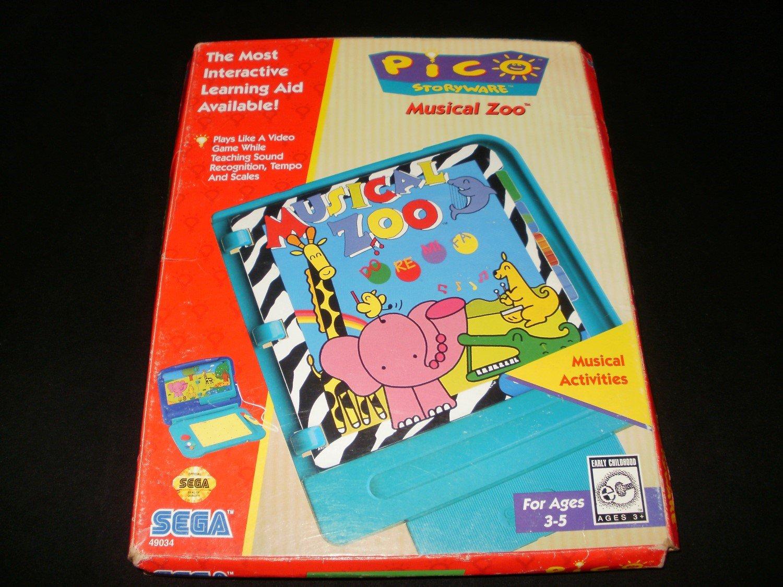 Musical Zoo - Sega Pico - Complete CIB - Rare