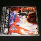 Tekken 3 - Sony PS1 - Complete CIB - 1998 Black Label Release