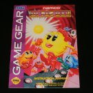 Ms. Pac-Man - Sega Game Gear - 1993 Manual Only