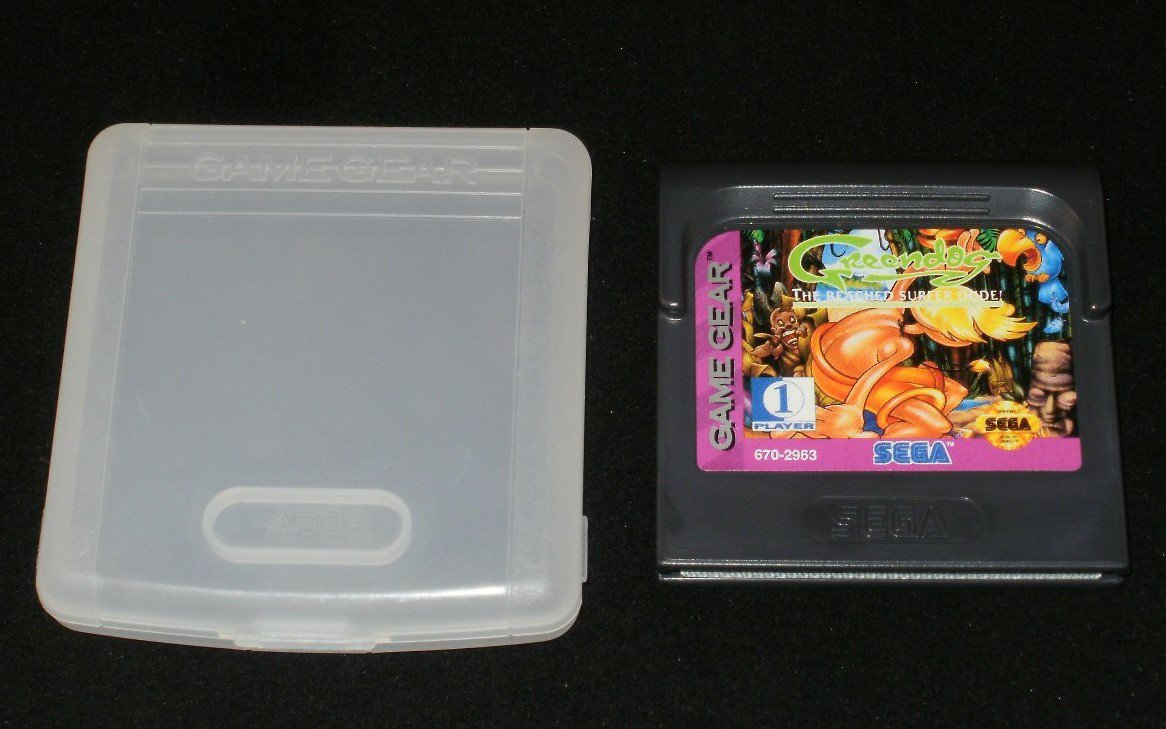 Greendog The Beached Surfer Dude - Sega Game Gear - With Case