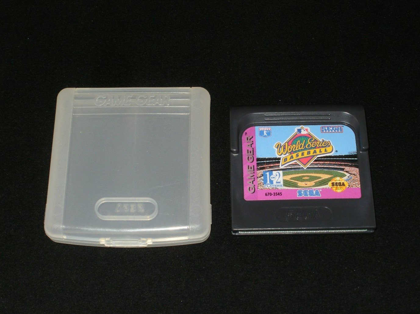 World Series Baseball - Sega Game Gear - With Case