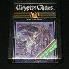 Crypts of Chaos - Atari 2600 - Rare