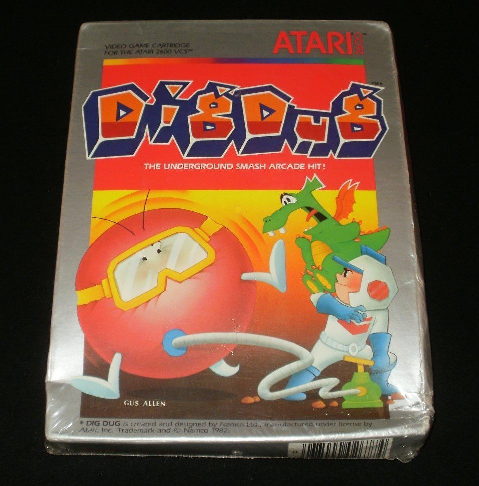 Dig Dug - Atari 2600 - New Factory Sealed