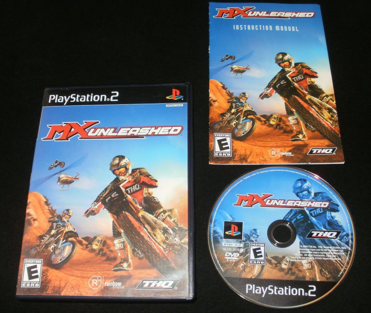 MX Unleashed - Sony PS2 - Complete CIB