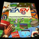 Electronic Arts Poster Catalog - Sega Genesis 1992 - Never Used