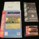 Super Battleship - Sega Genesis - Complete CIB - 1996 Ballistic Version