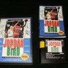 Jordan vs Bird - Sega Genesis - Complete CIB