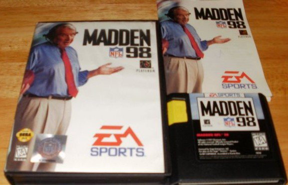 Madden 98 - Sega Genesis - Complete CIB