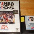 NBA Live 95 - Sega Genesis - With Box