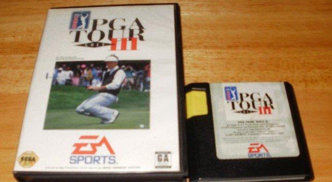 PGA Tour Golf 3 - Sega Genesis - With Box