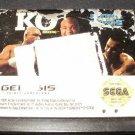 George Foreman's KO Boxing - Sega Genesis
