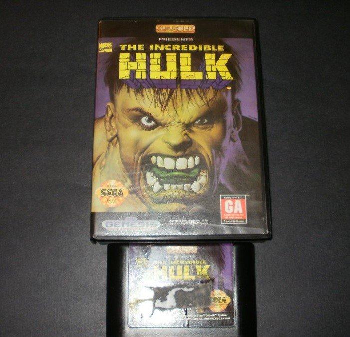 Incredible Hulk - Sega Genesis - With Box