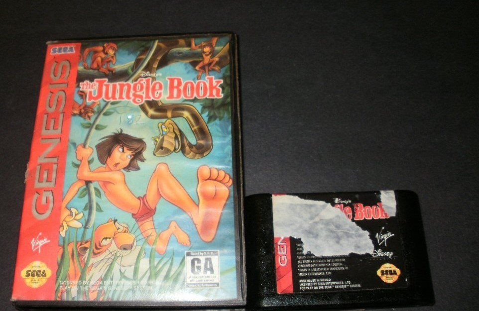 The Jungle Book - Sega Genesis - With Box