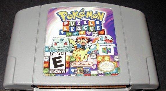 Pokémon Puzzle League - N64 Nintendo