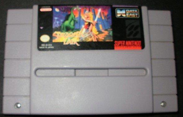 Dragon's Lair - SNES Super Nintendo