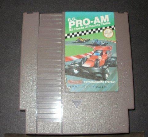 R.C. Pro-AM - Nintendo NES
