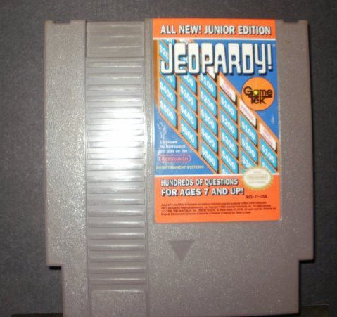 Jeopardy! Jr. Edition - Nintendo NES