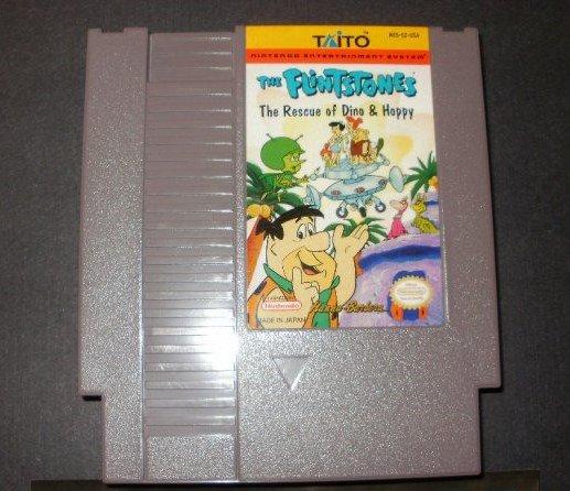 Flintstones Rescue of Dino and Hoppy - Nintendo NES
