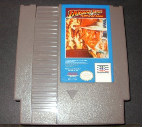 Indiana Jones And the Temple of Doom - Nintendo NES - Mindscape Version