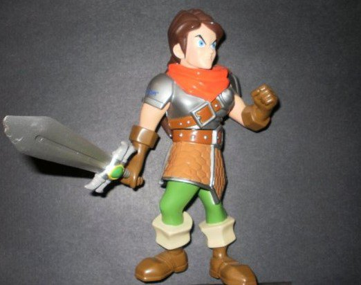 Large Capcom Maximo Action Figure - 8 Inches High