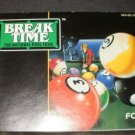 Break Time - Nintendo NES - Manual Only