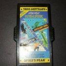 Artillery Duel + Spike's Peak - Atari 2600 - Rare