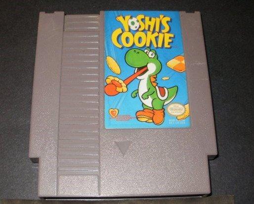 Yoshi's Cookie - Nintendo NES