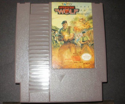 Operation Wolf - Nintendo NES