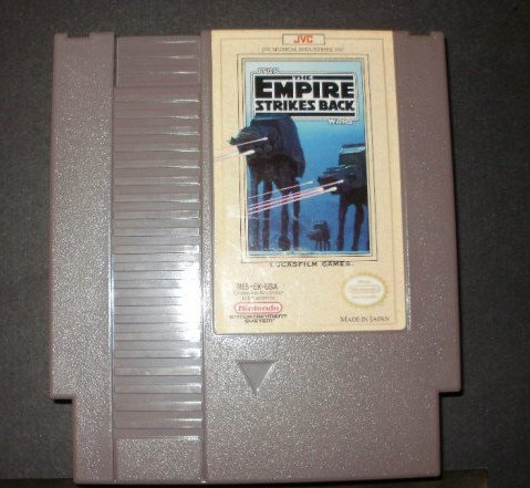 Star Wars The Empire Strikes Back - Nintendo NES