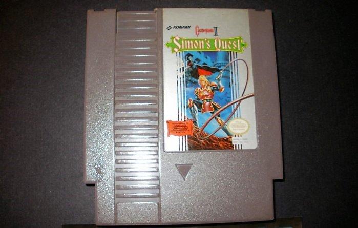 Castlevania II - Simon's Quest - Nintendo NES