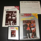 One-On-One Basketball - Atari 7800 - Complete
