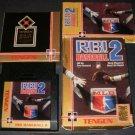 RBI Baseball 2 - Nintendo NES - Complete