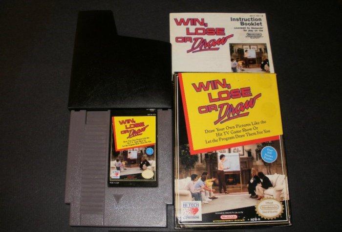 Win Lose Or Draw - Nintendo NES - Complete