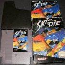 Ski or Die - Nintendo NES - Complete CIB