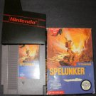 Spelunker - Nintendo NES - With Box & Cartridge Sleeve