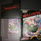 Millipede - Nintendo NES - With Box & Cartridge Sleeve