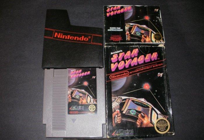 Star Voyager - Nintendo NES - Complete