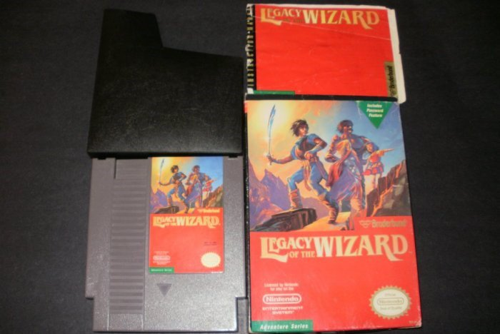 Legacy of the Wizard - Nintendo NES - Complete