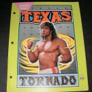 WWF Texas Tornado Folder With Pockets - 1991 Plymouth Inc