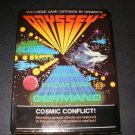 Cosmic Conflict - Magnavox Odyssey 2 - Complete